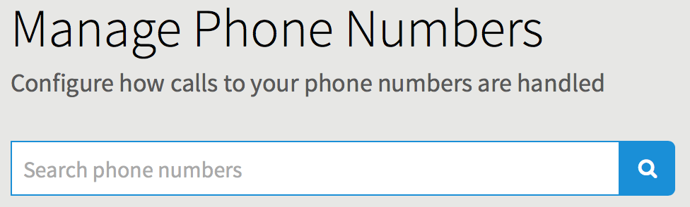 Phone Number Search