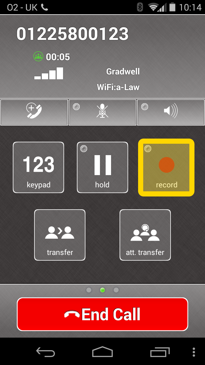 Call Recording Using Gradwell Softphone Gradwell Service And Support
