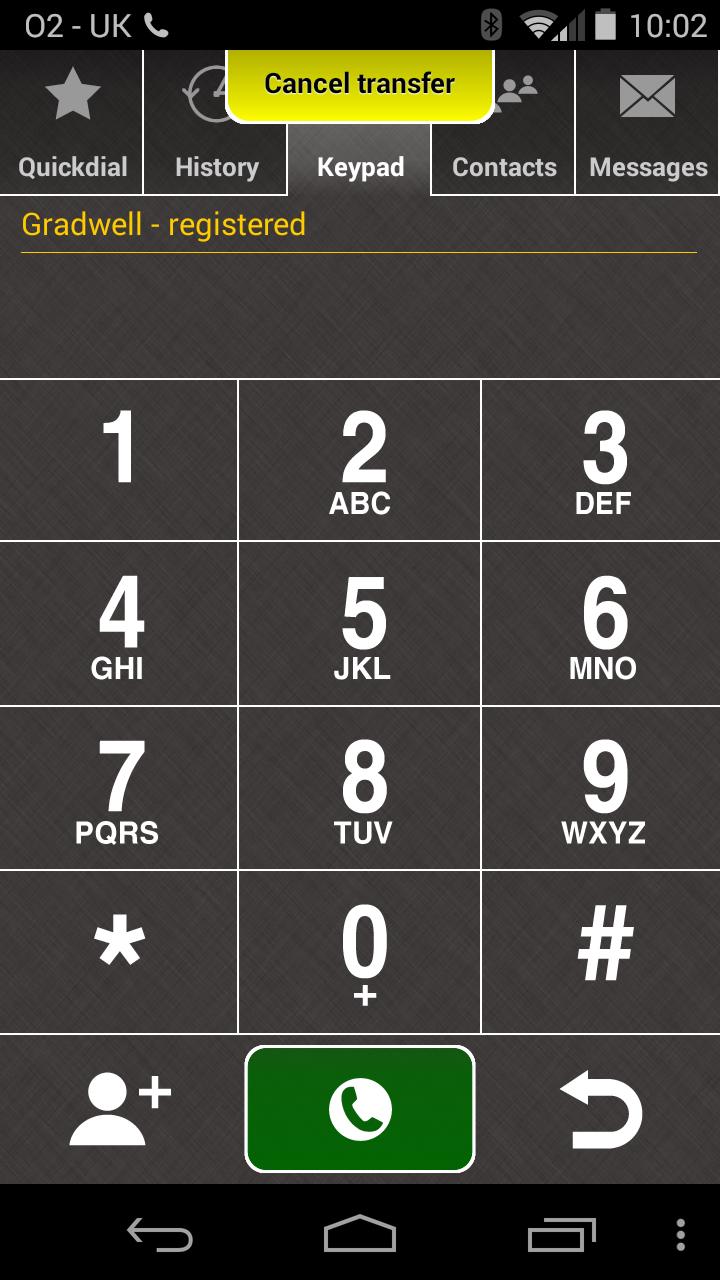 transferring calls using the gradwell softphone  u2013 gradwell service and support